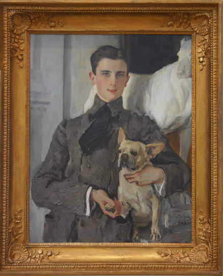 Valentin Serov, U201cPortrait Of Prince Felix Yusupov,u201d 1903, Oil On Canvas,  Russian Museum, St. Petersburg. U201c