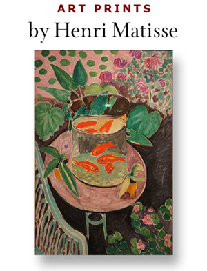 Henri Matisse prints available