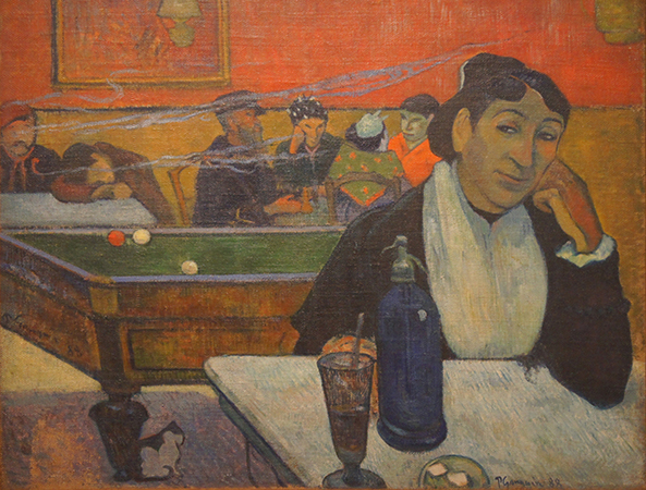 Prints of Paul Gauguin's painting Cafe at Arles