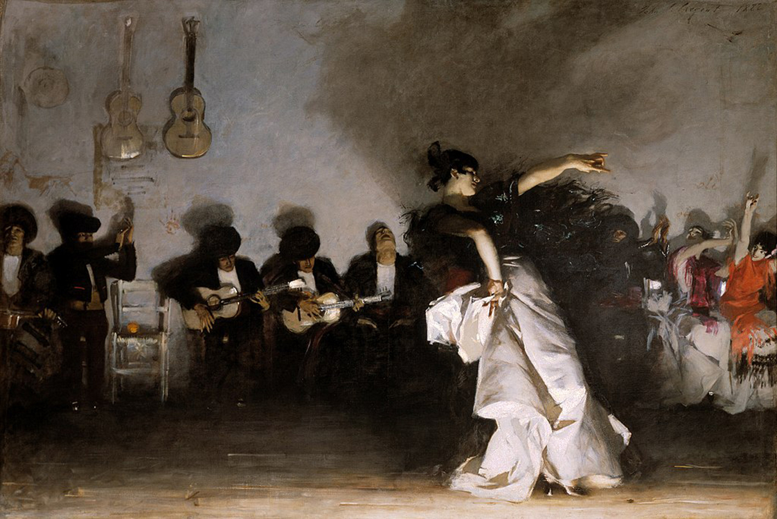 "John Singer Sargent, ""El Jaleo,"" (1882), oil on canvas"