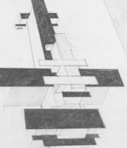 Fig. 4M alevich, Suprematist Architectural Drawing, 1924, pencil. NewYork, The Museumof Modern Art