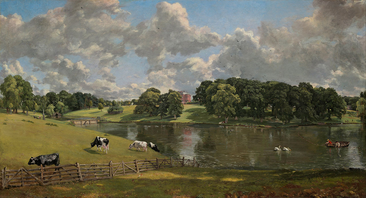 """Wivenhoe Park,"" by  John Constable, 1816, Collection of the National Gallery of Art, Washington D.C."
