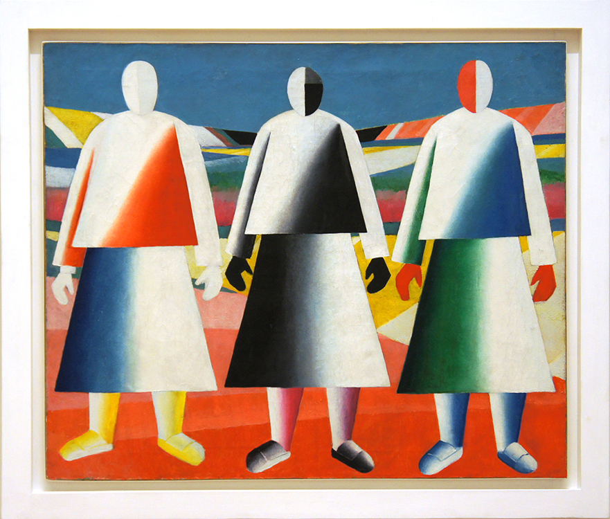 "Kazimir Malevich, ""Girls in a Field,"" 1928-1929, oil on canvas"
