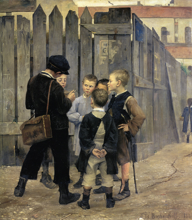 The Meeting, 1884, oil on canvas, Musée d'Orsay, Paris, France