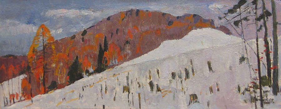 Ural. The Late Autumn