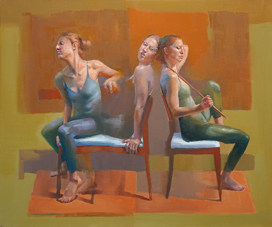 Cathy Locke figurative paintings