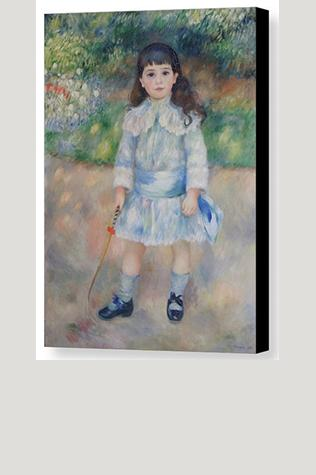 Boy With A Whip (1885)  by Renoir