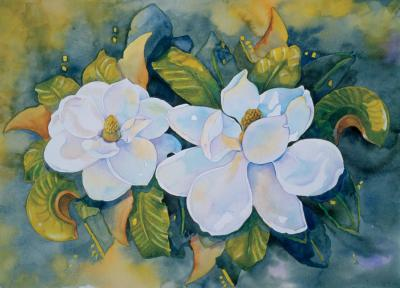 floral print by Cathy Locke