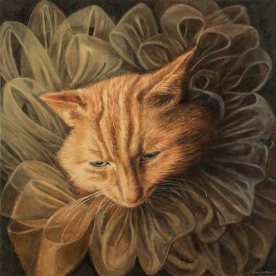 Orange Tabby by Barbara Tyler Ahlfield