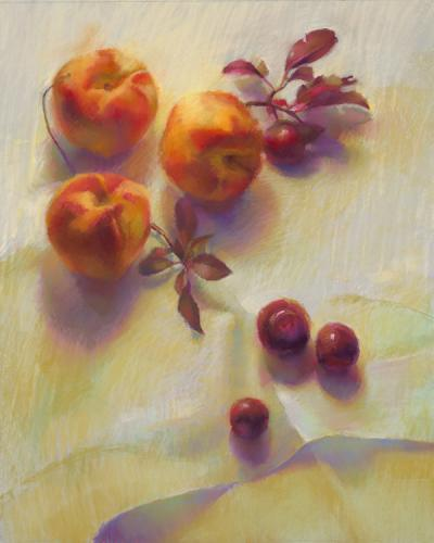 still life painting by Cathy Locke
