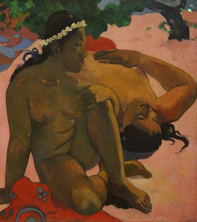 "Paul Gauguin ""What are you jealous"""