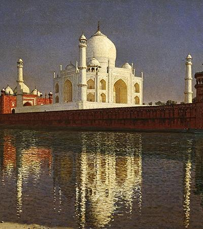 Vasily Vereschagin Taj Mahal print