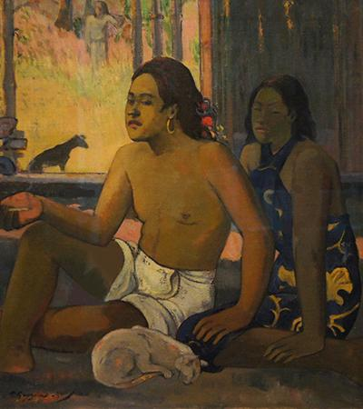 Eiaha Ohipa Do Not Work print of Paul Gauguin's work