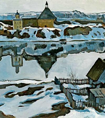 Fortress in Old Ladoga