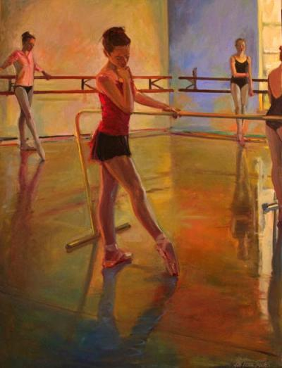 """""""Four at the Bar"""" by Kathleen Lack"""