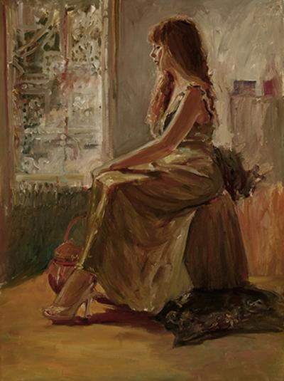 """""""Lace Curtains"""" by Kathleen Lack"""