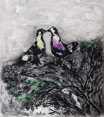 marc-chagall-the-two-pigeons-fontaine