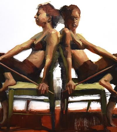 figurative paintings by Cathy Locke
