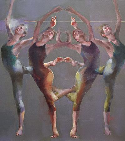 Movement in four by Cathy Locke