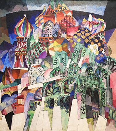 lentulov-St. Basil's Cathedral