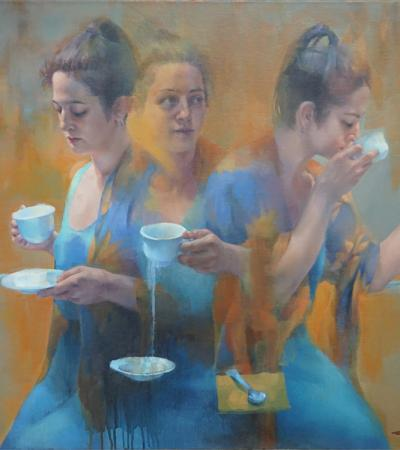 Tea Leaves by Cathy Locke