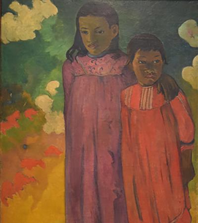 "Paul Gauguin ""Two Sisters"""