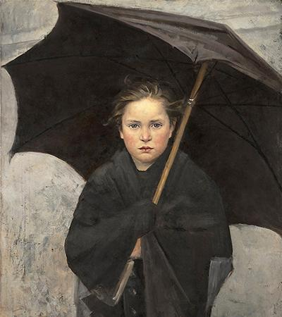 Marie Bashkirseff The Umbrella
