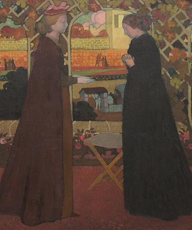 """The Visitation,"" 1894, oil on canvas, Sergei Shchukin Collection, State Hermitage Museum, St. Petersburg"